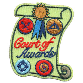 S-5728 Court of Awards Patch