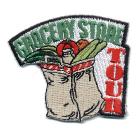 S-0529 Grocery Store Tour Patch