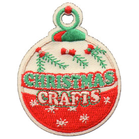 S-5732 Christmas Crafts Patch