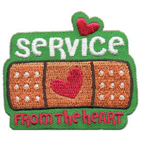 S-5734 Service From the Heart Patch