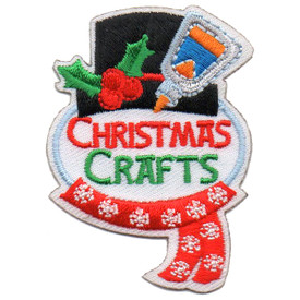 S-5735 Christmas Crafts Patch