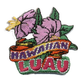 S-0530 Hawaiian Luau (Flowers) Patch