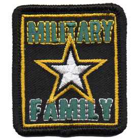 S-5758 Military Family Patch
