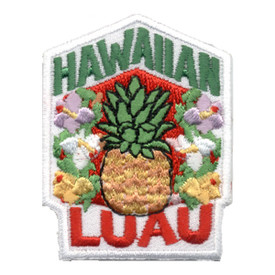 S-0532 Hawaiian Luau Patch