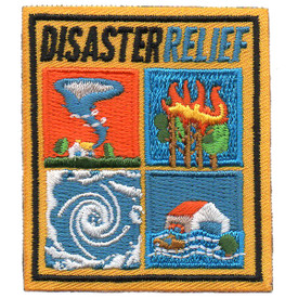 S-5770 Disaster Relief Patch