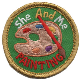 S-5790 She and Me Painting Patch