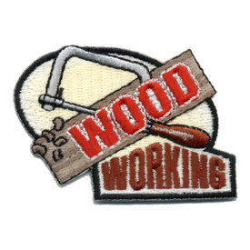 S-0536 Wood Working Patch