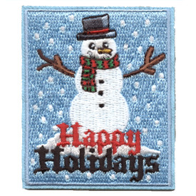 S-5797 Happy Holidays Patch
