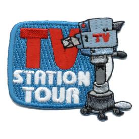 S-0538 TV Station Tour Patch