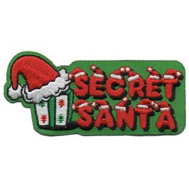 S-5806 Secret Santa Patch