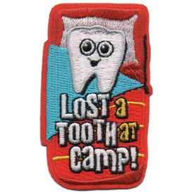 S-5810 Lost a Tooth at Camp  Patch