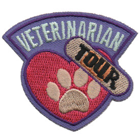 S-5811 Veterinarian Tour Patch