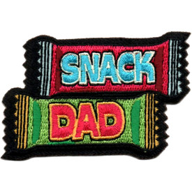 S-5826 Snack Dad Patch