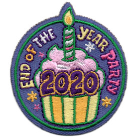 S-5830 2020 End of Year Party Patch