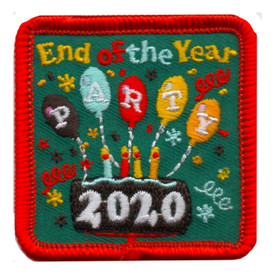 S-5832 2020 End of Year Party Patch