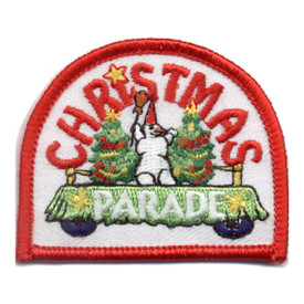 S-0543 Christmas Parade Patch