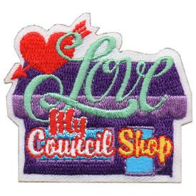 S-5853 Love My Council Shop Patch