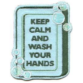 S-5860 Keep Calm-Wash Your Hands