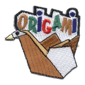 S-0550 Origami Patch