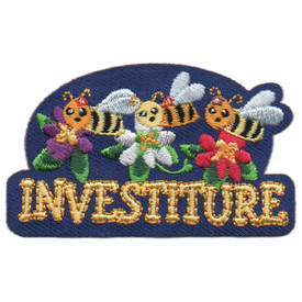 S-5876 Investiture Patch