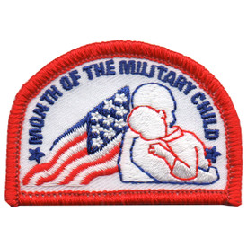 S-5877 Military Child Month Patch