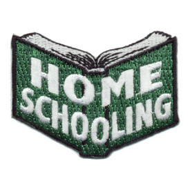 S-0555 Home Schooling Patch