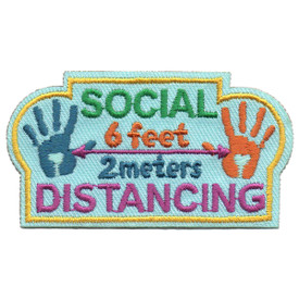 S-5908 Social Distancing Patch