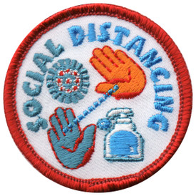 S-5909 Social Distancing Patch