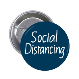 S-5919 Social Distancing Button