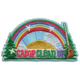 S-5932 Camp Clean Up Patch
