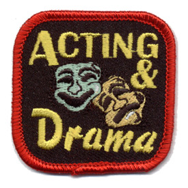 S-0563 Acting  & Drama Patch