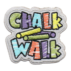 S-5975 Chalk Walk Patch