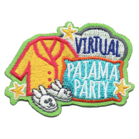S-6031 Virtual Pajama Party Patch
