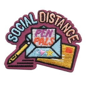S-6039 Social Distance Pen Pals Patch