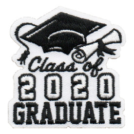 S-6041 Class of 2020 Graduate Patch