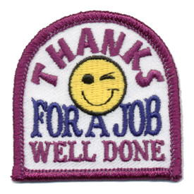 S-0578 Thanks A Job Well Done Patch