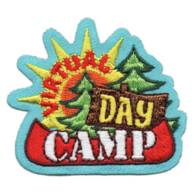S-6071 Virtual Day Camp Patch
