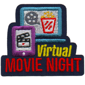 S-6083 Virtual Movie Night Patch