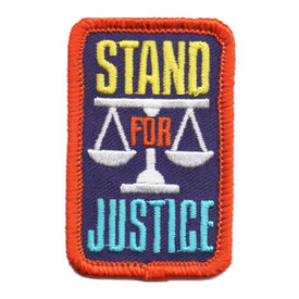 S-6087 Stand For Justice Patch