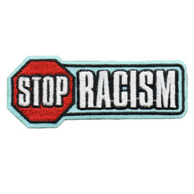 S-6088 Stop Racism Patch