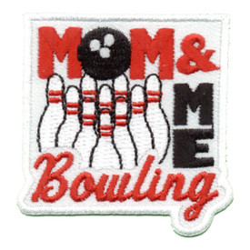 S-0580 Mom & Me Bowling Patch