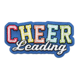S-6103 Cheer Leading Patch