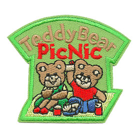 S-0584 Teddy Bear Picnic Patch