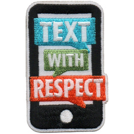 S-6123 Text With Respect Patch