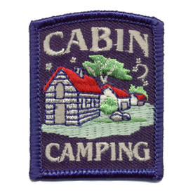 S-0587 Cabin Camping Patch