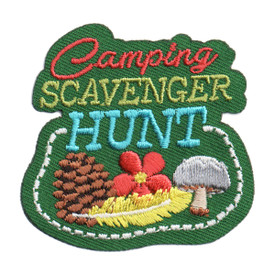 S-6141 Camping Scavenger Hunt Patch