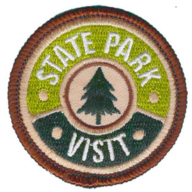 S-6144 State Park Visit Patch