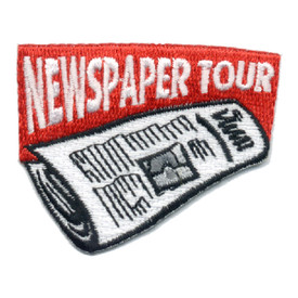 S-0588 Newspaper Tour Patch