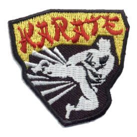 S-0591 Karate Patch
