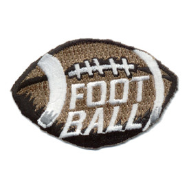 S-0592 Football Patch